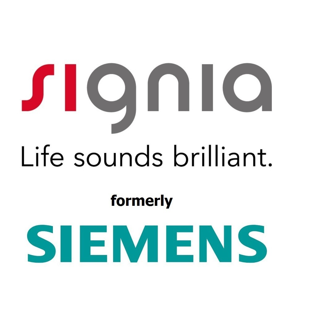 Signia and Siemens Logo Combination
