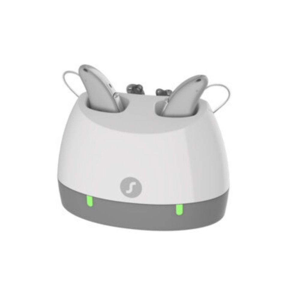 Signia Pure Charge & Go AX Hearing Aid Desktop Charger