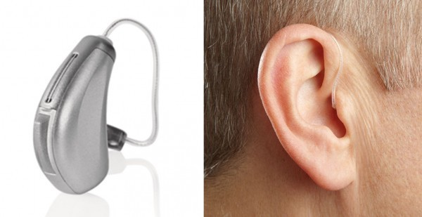 RIC hearing aid style