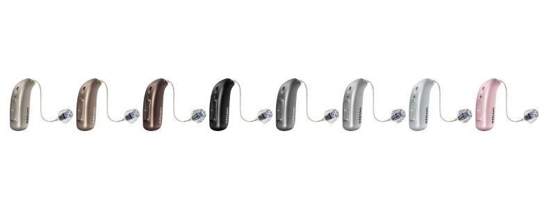 Oticon More Hearing Aid Colours