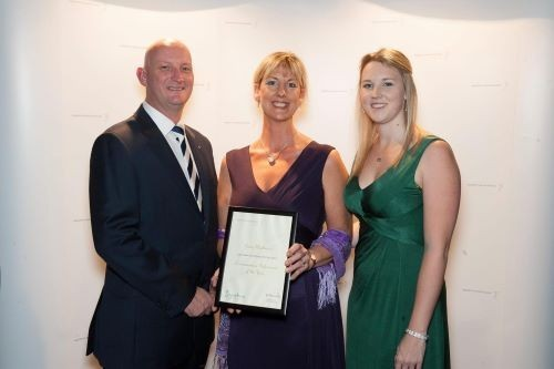 Lesley Weatherson Wins Award